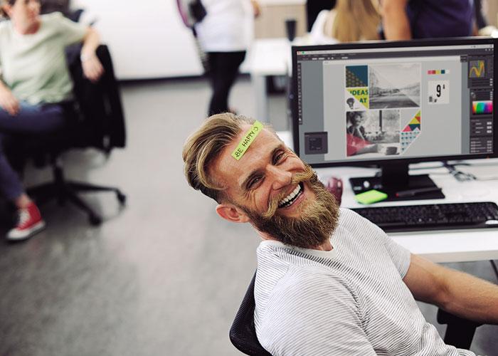 Cómo ser feliz en el trabajo