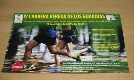 Nueva edición de la Carrera Solidaria Vereda de los Guardias que organizan Ayuntamiento y Guardia Civil