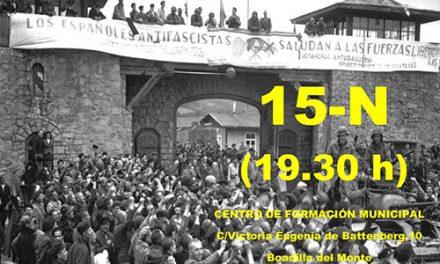 """Caballo Verde hablará sobre los """"Españoles en Mauthausen"""""""