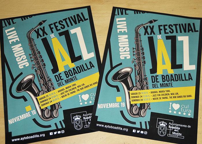 Boadilla celebrará su XX Festival de Jazz el próximo fin de semana