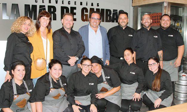 La Mar de Gambas, presenta su nueva carta con una degustación de vinos de Bodegas García Carrión