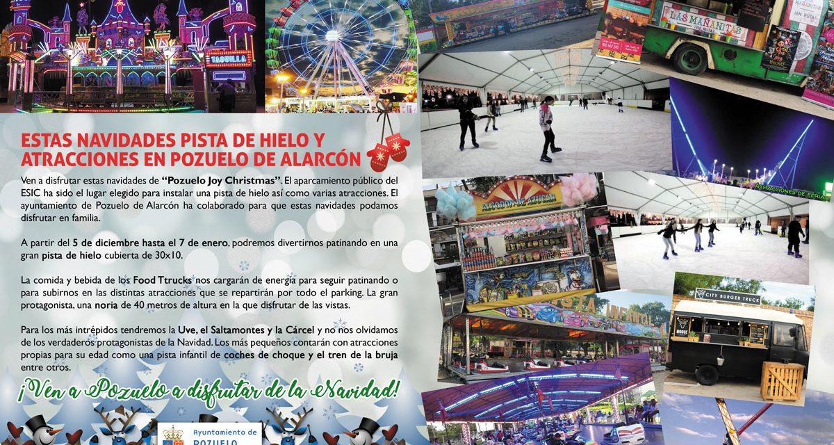 Estas navidades pista de hielo y atracciones en Pozuelo de Alarcón