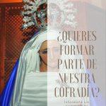Nueva Cofradía en honor a la imagen de la Santísima Virgen de la Soledad en Boadilla del Monte