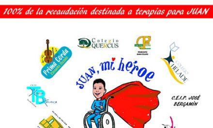 «Juan mi héroe»: festival benéfico a favor de un menor afectado por el síndrome CDG