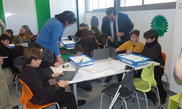 Colegio Quercus, centro pionero con un Aula Lego Innovatio Studio