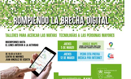 Boadilla ofrece talleres para acercar las nuevas tecnologías a las personas mayores