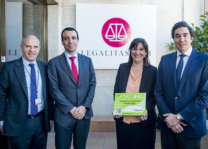 Pozuelo de Alarcón es sede nacional de Legálitas, una de las empresas más importantes del ámbito jurídico