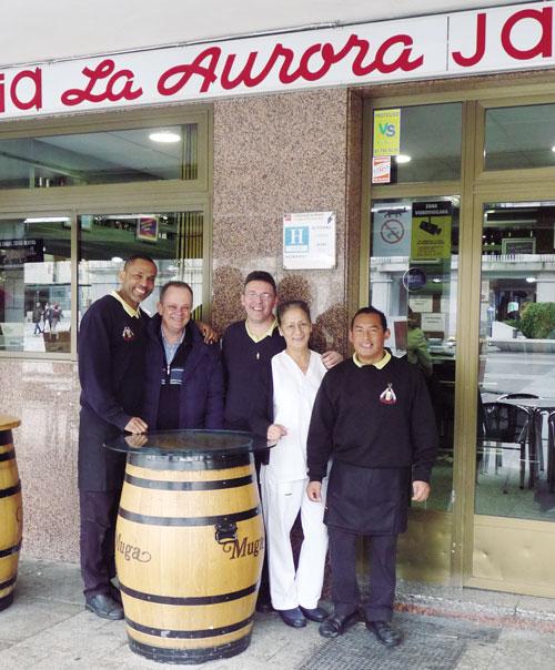 Cafetería cervecería La Aurora