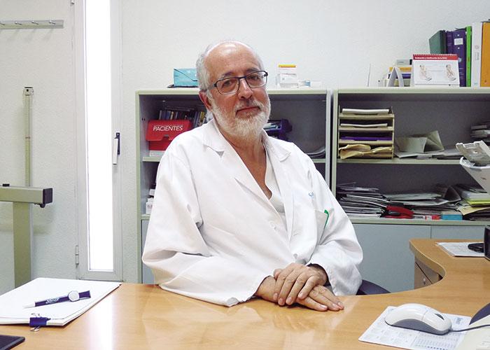 Alfredo Pintado King, médico de familia en Boadilla