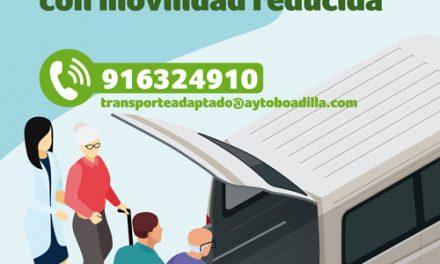 Nuevo servicio de transporte adaptado para mayores en situación de vulnerabilidad