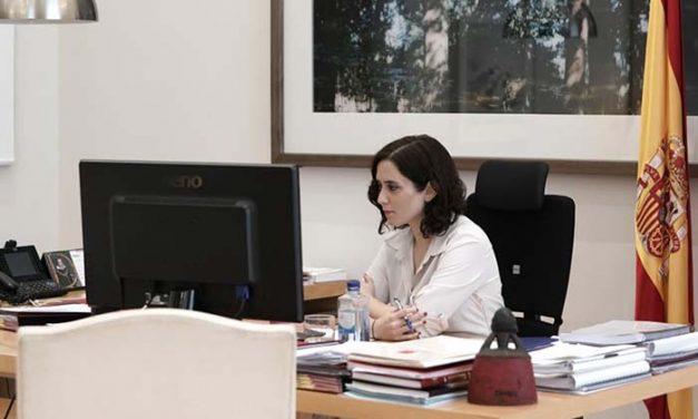 Díaz Ayuso: «Ruego material para salvar vidas y proteger a los profesionales sanitarios»