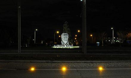 Boadilla mejora la rotonda de Alfredo Krauss en homenaje al que fuera uno de sus más ilustres vecinos