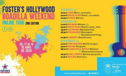 Nuevo fin de semana musical con actuaciones on line de  los grupos locales