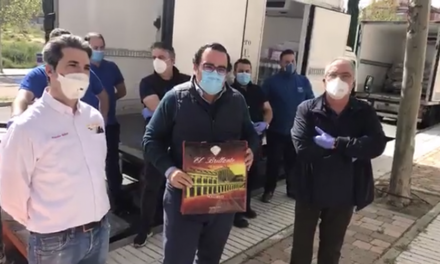 La solidaridad de El Brillante se vuelca con Cáritas de Boadilla del Monte
