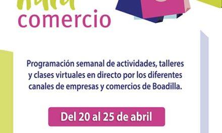 Boadilla organiza un Aula de Comercio con actividades on line durante toda la semana