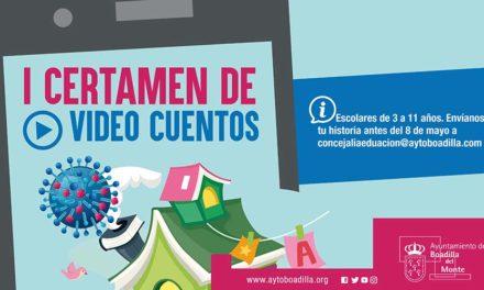 El Ayuntamiento de Boadilla convoca un certamen de videocuentos sobre el coronavirus para alumnos de infantil y primaria