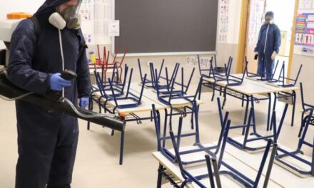 El Ayuntamiento de Pozuelo activa un plan especial de desinfección de los ocho colegios públicos de la ciudad