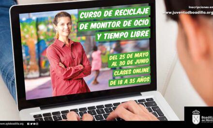 Abierta la inscripción para dos nuevos cursos online que Juventud ofrecerá a monitores de ocio y tiempo libre