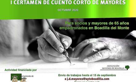 I Certamen de Cuento Corto de Mayores de Boadilla del Monte