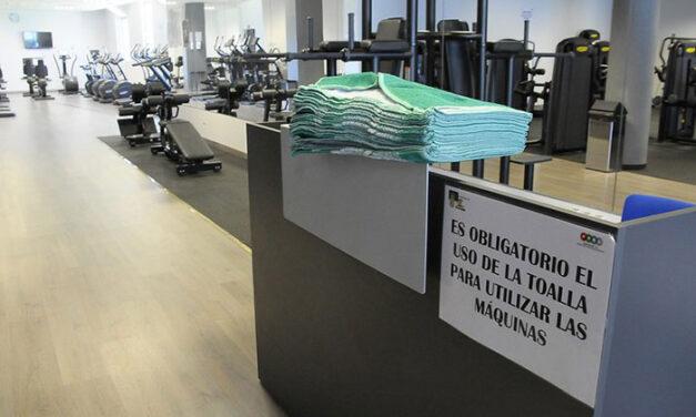 El gimnasio del pabellón Rey Felipe VI abrirá el día 1 de julio con todas las medidas de seguridad