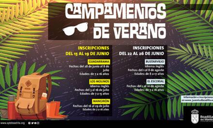 Juventud organiza campamentos de verano para niños y jóvenes de 7 a 16 años dentro de la Comunidad de Madrid