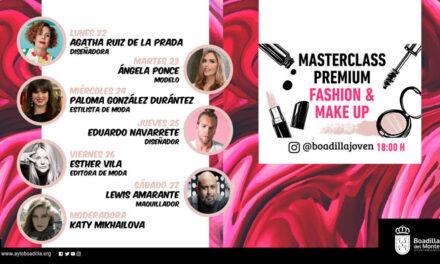 Boadilla organiza un ciclo online con profesionales de moda, maquillaje, pasarela y editoriales para conocer mejor el trabajo del sector