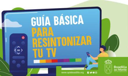 Boadilla informa a los vecinos sobre cómo realizar la necesaria resintonización de los canales de TDT