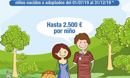 El Ayuntamiento de Pozuelo informa de que el plazo de solicitud de las ayudas por nacimiento o adopción de hasta 2.500 euros está abierto hasta el 1 de julio