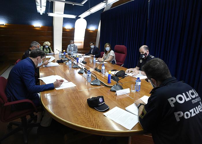 El Ayuntamiento de Pozuelo de Alarcón presenta el dispositivo especial de seguridad para la campaña de verano