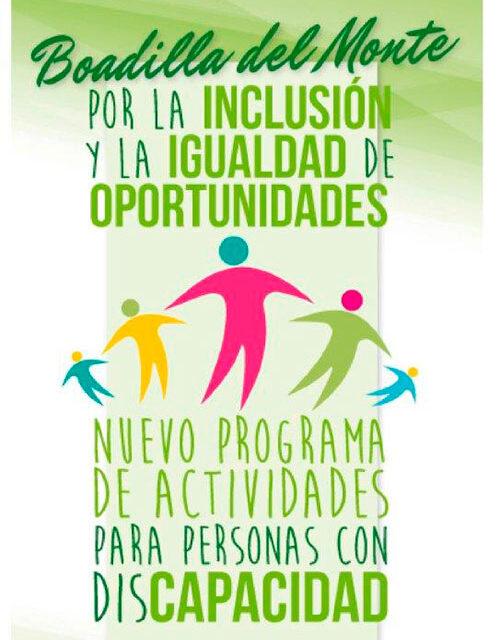 El Ayuntamiento de Boadilla duplica el presupuesto de su servicio de integración y ocio para personas con diversidad funcional