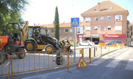 Nuevo aparcamiento en  la calle Fragua de Boadilla