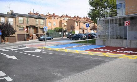 Finalizan las obras del aparcamiento de la Piscina Municipal Cubierta