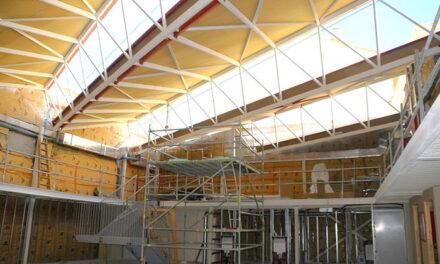 Las obras de la biblioteca Princesa Doña Leonor finalizarán a comienzos de 2021