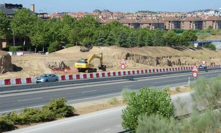 Avanzan a buen ritmo las obras de conexión de la avenida Isabel de Farnesio con la M-513