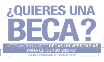 El Ayuntamiento de Pozuelo recuerda que aún está abierto el plazo para solicitar becas de estudio en algunas universidades de la región