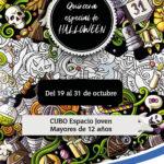 El Ayuntamiento de Pozuelo organiza una quincena especial de Halloween en el CUBO Espacio para los jóvenes