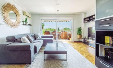 Un apartamento especial por su gran espacio