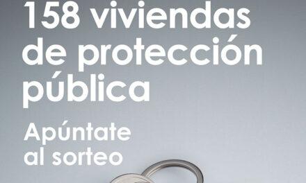 Abierto el plazo de solicitud de 158 nuevas viviendas de protección pública en régimen de venta