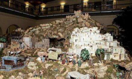 Ya se puede visitar el Gran Belén instalado en el Ayuntamiento de Pozuelo con más de 450 figuras y 60 metros cuadrados