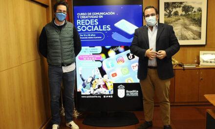 El Ayuntamiento de Boadilla ofrece a los jóvenes un curso de comunicación y creatividad en redes sociales