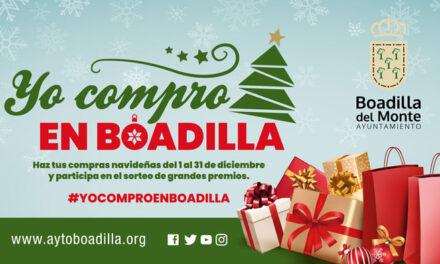 Boadilla inicia campañas navideñas para incentivar el consumo en comercios y restaurantes locales