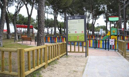 Finalizan las obras de remodelación del parque  Bonanza