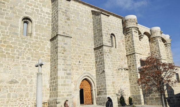 Iglesia de la Asunción de Robledo de Chavela. Dragones en las bóvedas de Madrid