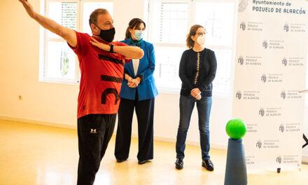 Pérez Quislant conecta con los alumnos del taller on line de gimnasia de mantenimiento para mayores
