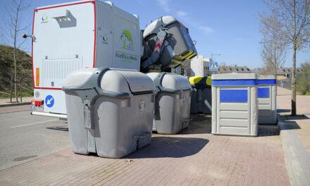 El Ayuntamiento de Boadilla refuerza la limpieza integral de los contenedores de basura