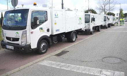El servicio de limpieza incorpora cuatro nuevos camiones para trabajar en los nuevos desarrollos