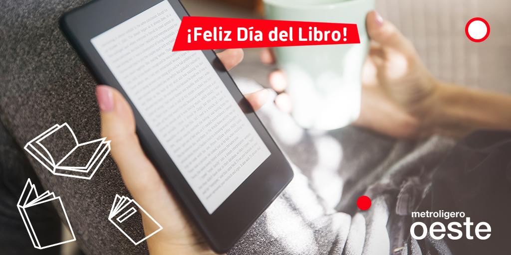 Metro Ligero Oeste recomienda una selección de libros digitales para disfrutar en sus trayectos