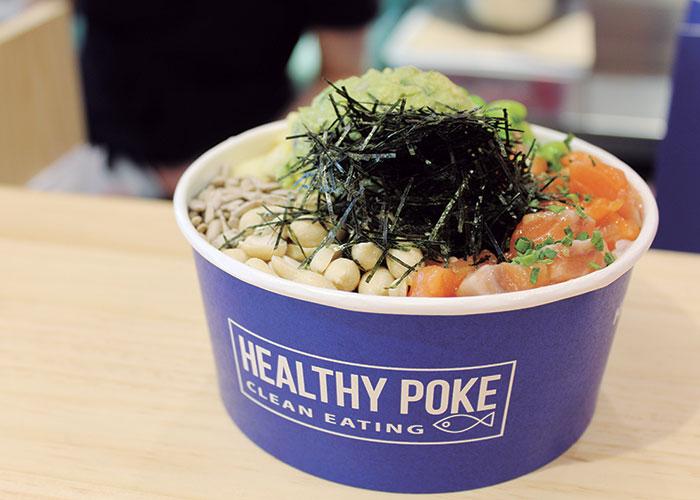 Healthy Poke:disfrutar de la comida sana sí es una opción