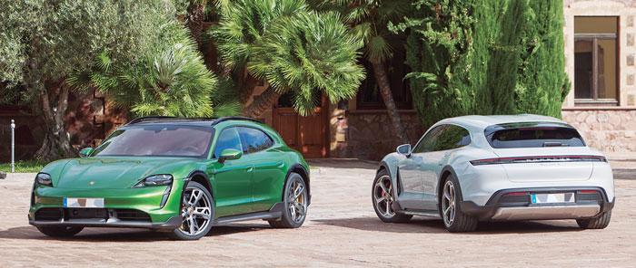 Taycan Cross Turismo, el eléctrico de Porsche. La versión deportiva más polivalente