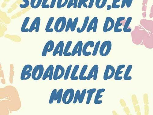 El restaurante La lonja de Boadilla alberga este fin de semana un mercadillo solidario